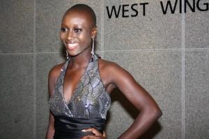 Top Model Kadiatu Kamara always looking elegant