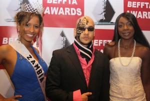 Miss Zambia Univers/UK, Dj Sose and Nina Martin