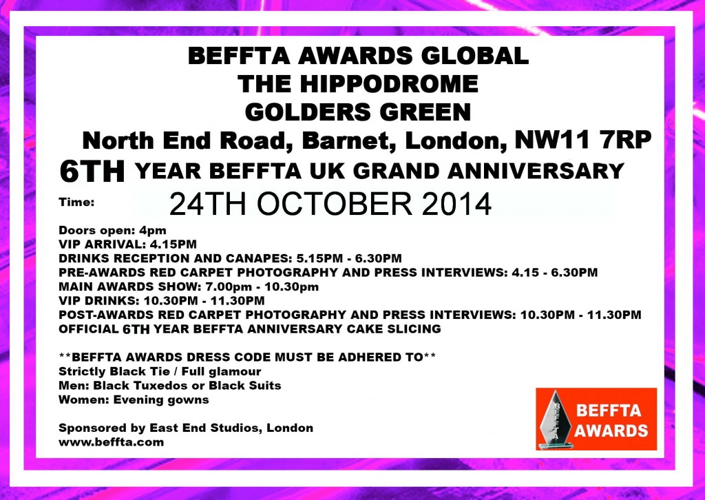 24TH INVITE CARD - BEFFTA