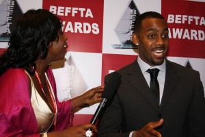 Catching up with Richard Blackwood for an interview
