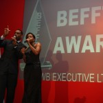 BEFFTA Awards hosts Richard and Miss London