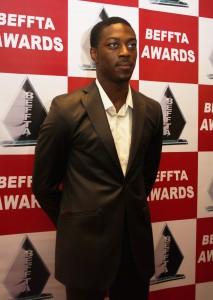 Actor David Ajala keeping it cool