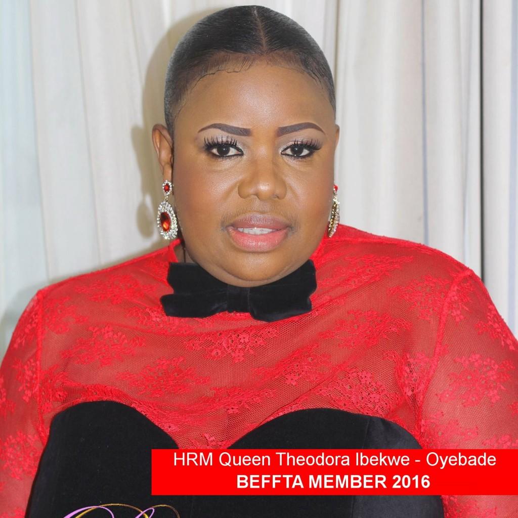 BEFFTA MEMBER HRM Queen Theodora Ibekwe - Oyebade