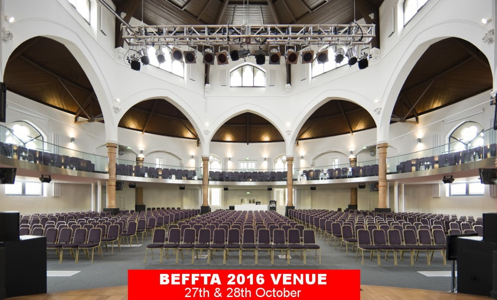 BEFFTA UK 2016 VENUE