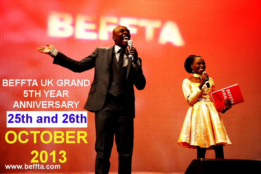 BEFFTA UK 5TH YEAR GRAND ANNIVERSARY 25TH AND 26TH OCTOBER 2013