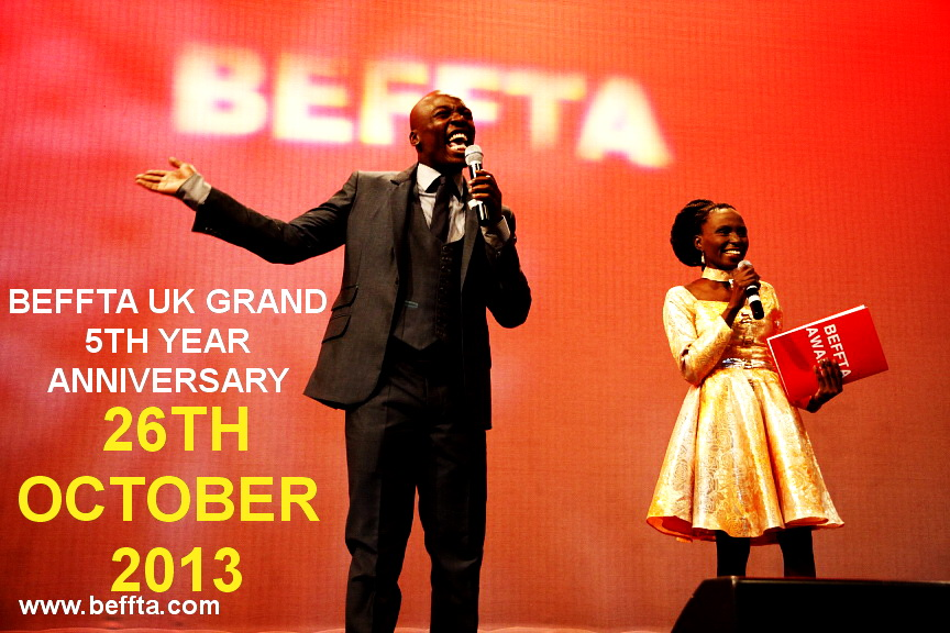BEFFTA UK 5TH YEAR GRAND ANNIVERSARY 26TH OCTOBER 2013