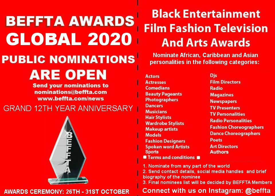 BEFFTA UK NOMINATION 2020