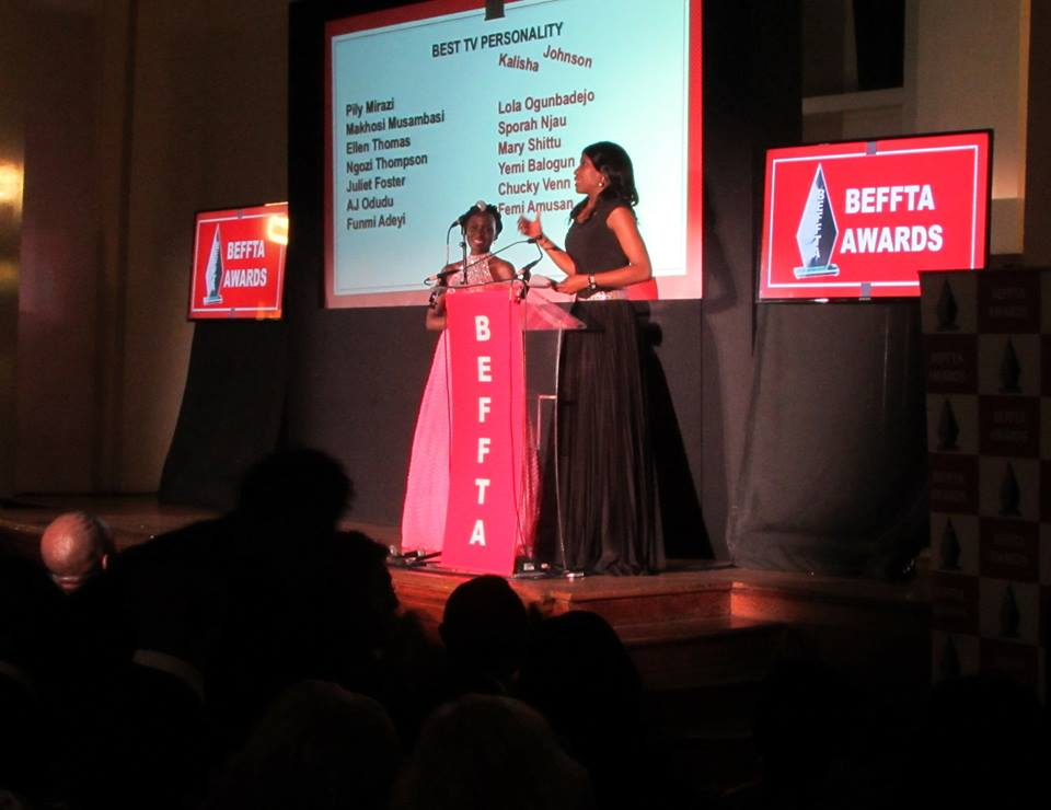 BEFFTA BEST TV PERSONALITY- NGOZI THOMPSON
