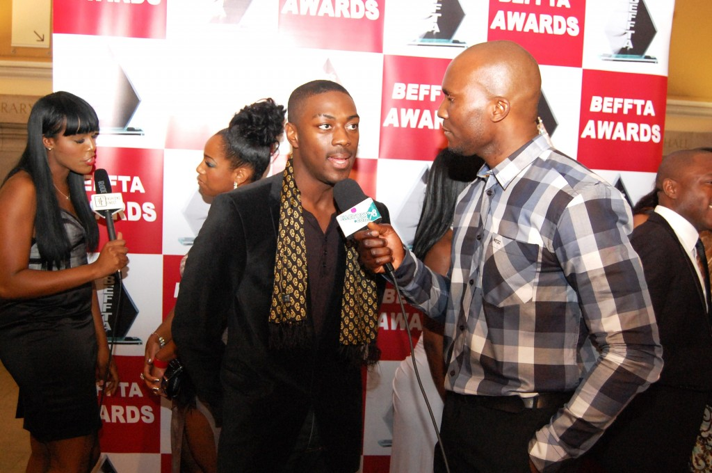 BEFFTA stars interviewed on the red carpet