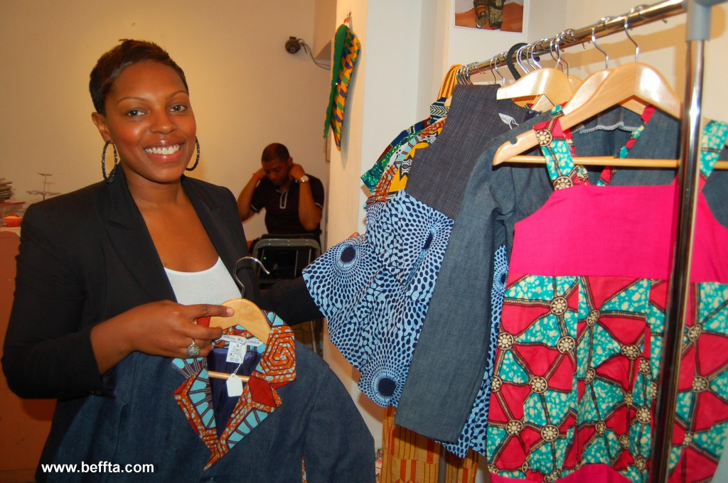 Yaa Ohenewa Textiles designer specialises in both children and adult ranges