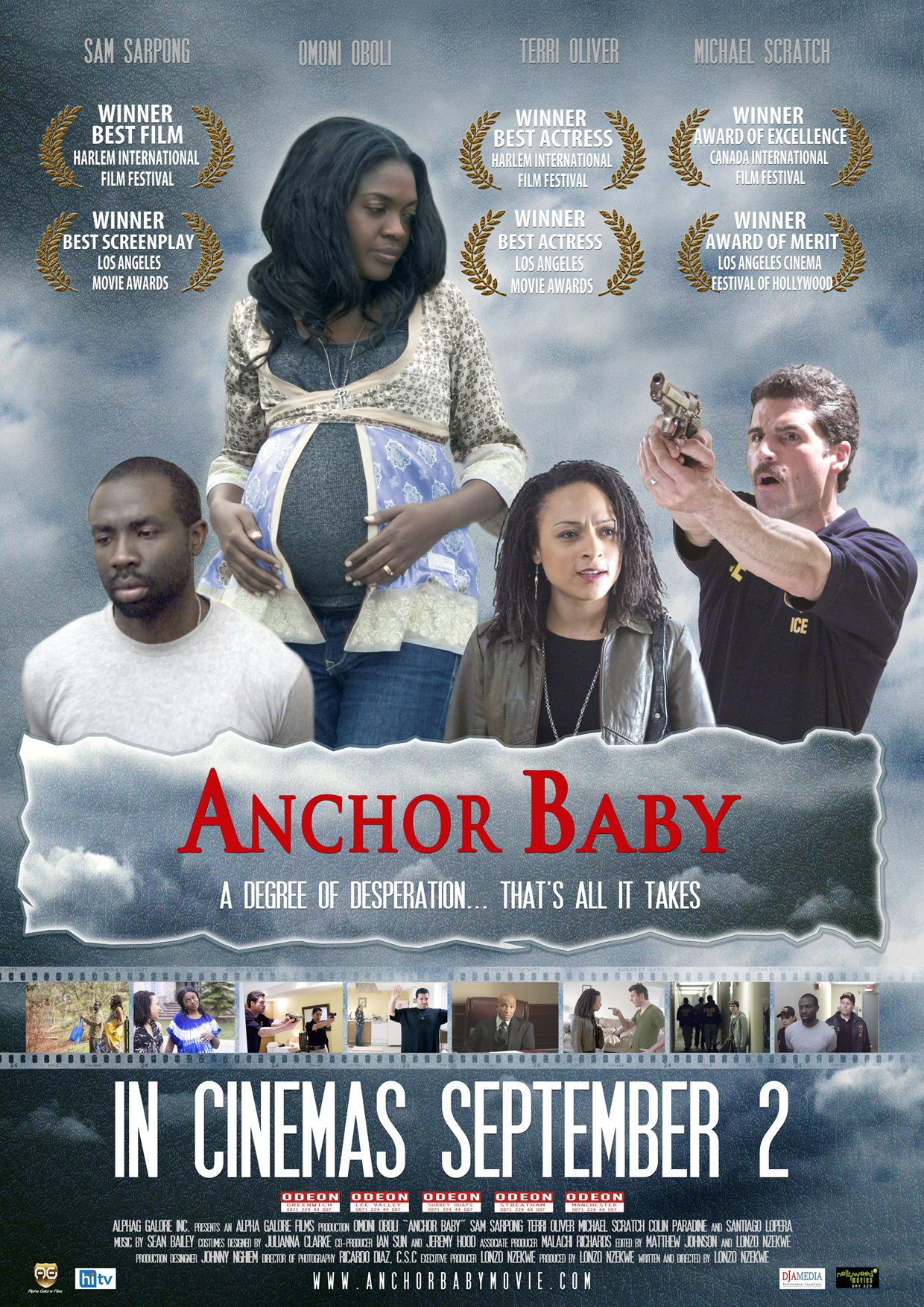Award winning movie Anchor Baby in UK cinemas from 2nd September