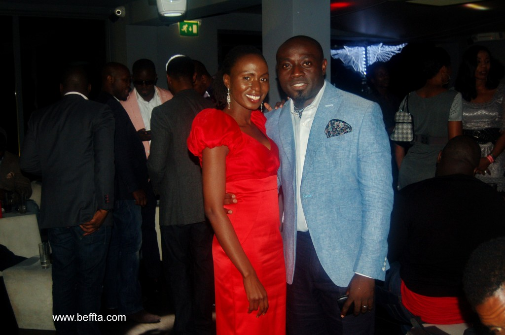 FAB Magazine publisher Familusi Akin Babajide and BEFFTA founder Pauline Long