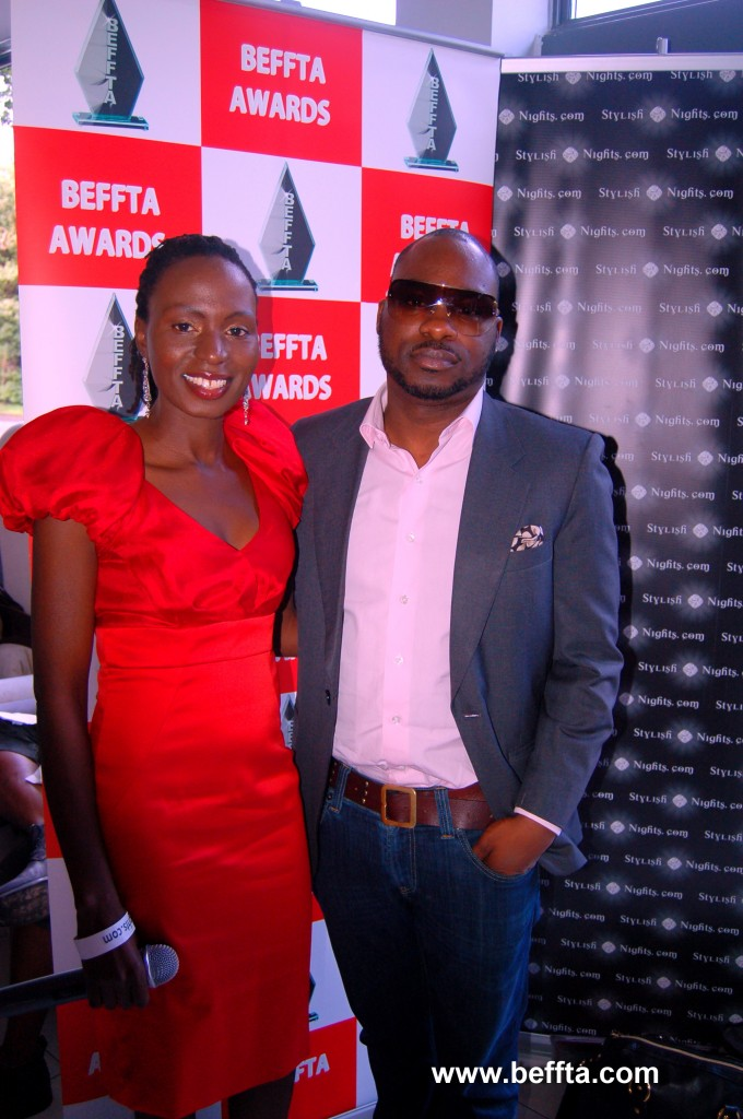 Top designer and mobile phone tycoon Alexander Amosu interviewed for BEFFTA TV