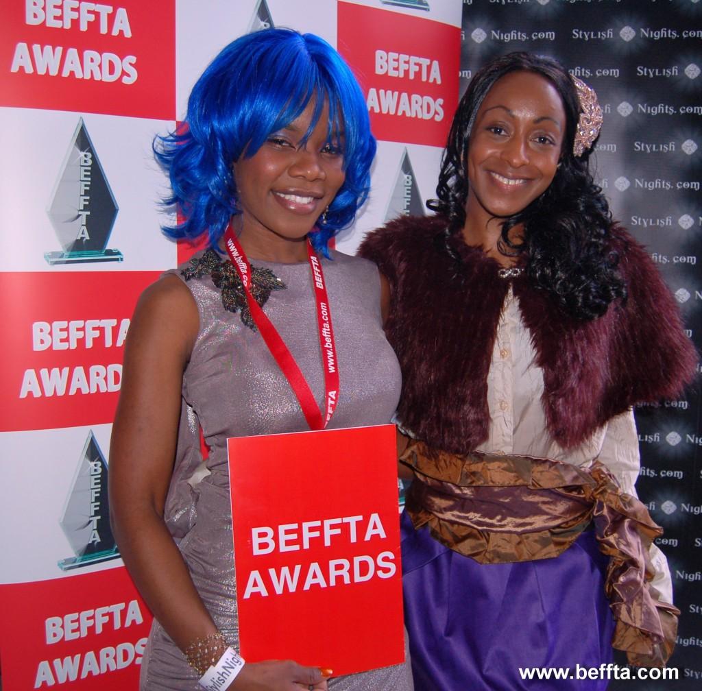 Choreographer Yvonne and BEFFTA Member Ethel Elaka
