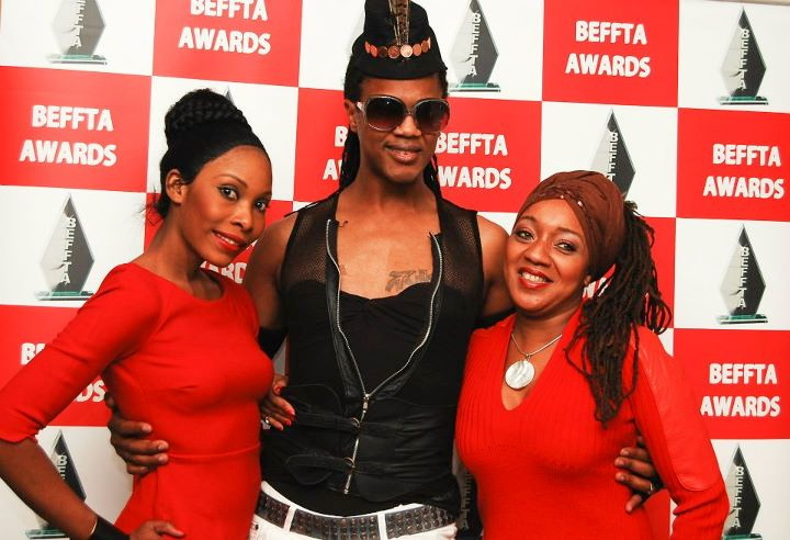 BEFFTA double award winning model trainer and choreographer Catwalk Professor, Veteran Make-Up artust Karen Salandy and Bloger Miss Jestina George