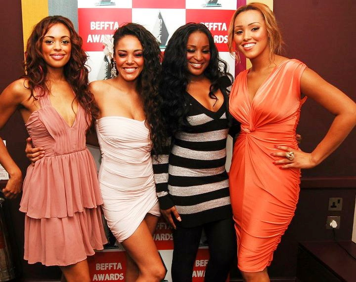 UK's top girl band 4FLAVA at the launch