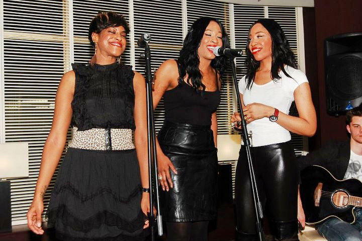 Sensational girl band Shiikane performing at the launch