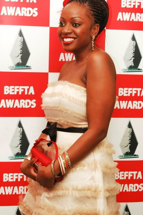 TV Personality Makosi Musambasi looking fabulous