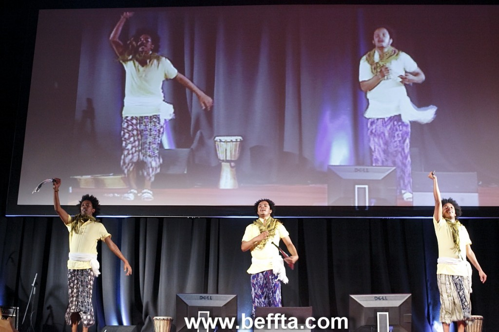 Dan-Kira international dance group at BEFFTA UK awards