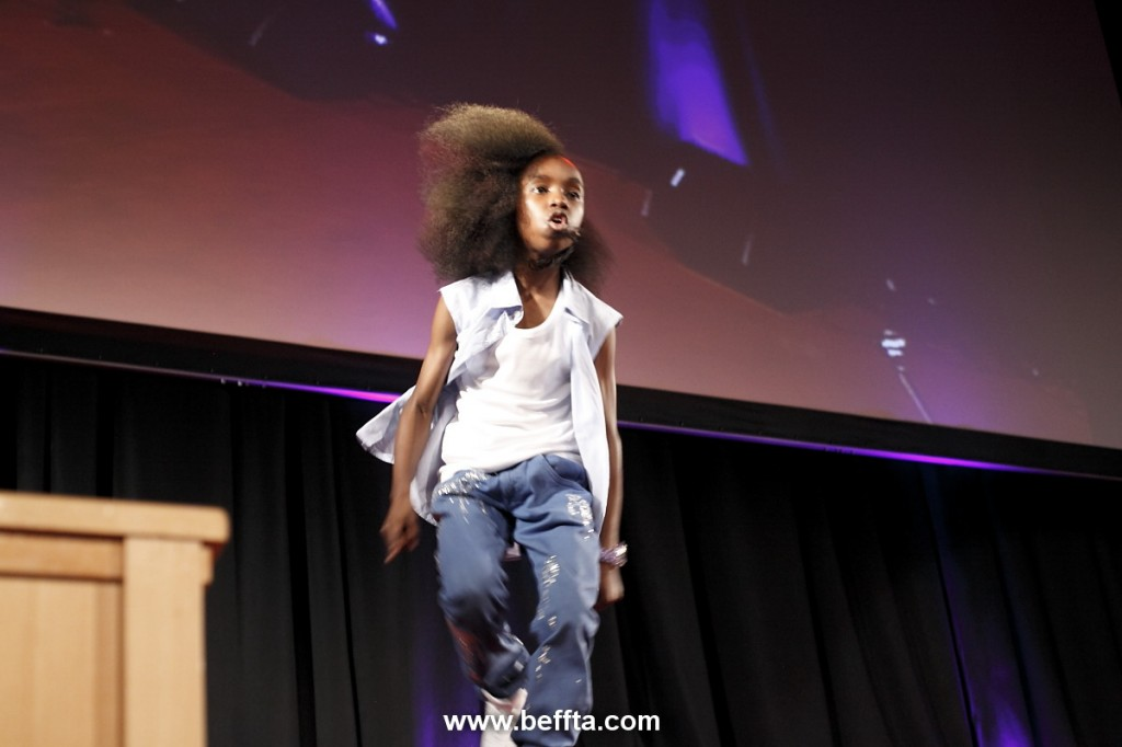 TV dance star Akai performing at BEFFTA awards 2011
