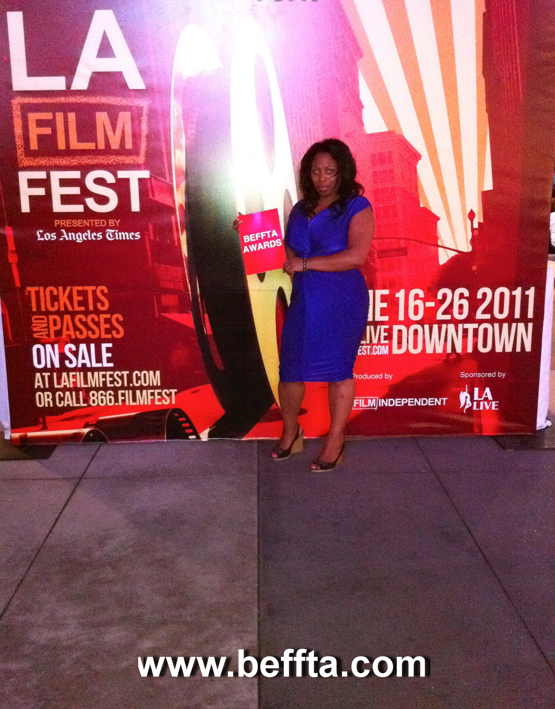 BEFFTA international manager Verona White at Los Angeles Film Festival