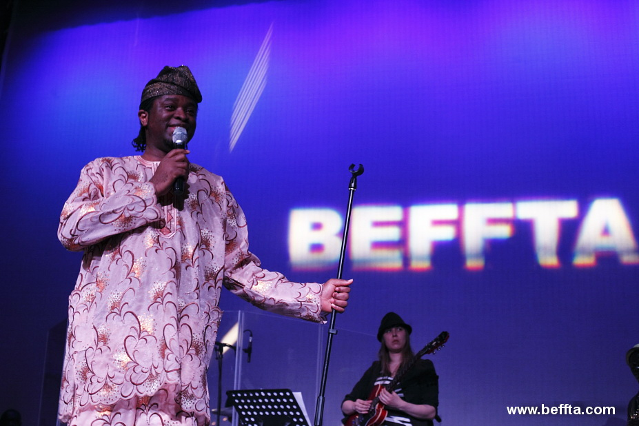 Anthony Everest performs at BEFFTA THI IS LOVE charity concert
