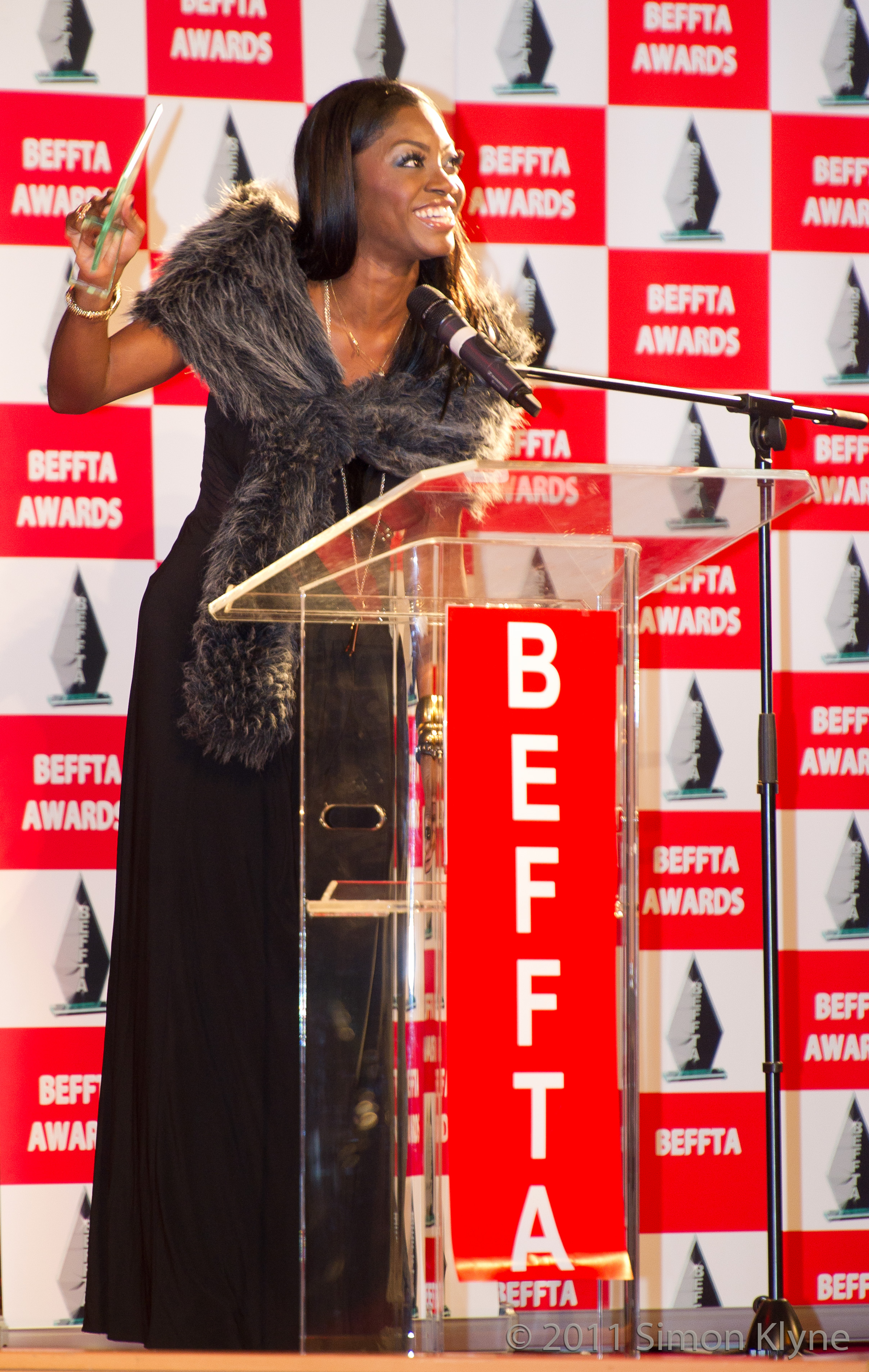 Mink London honoured at BEFFTA awards 2011 BEST MAKE UP ARTIST