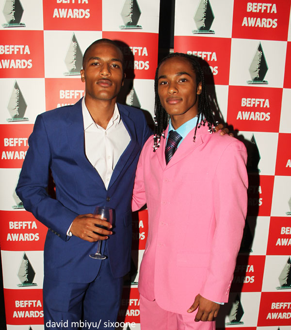 Leyton Benta and Samuell Benta the creator of the hit webseries -All about the McKenzies