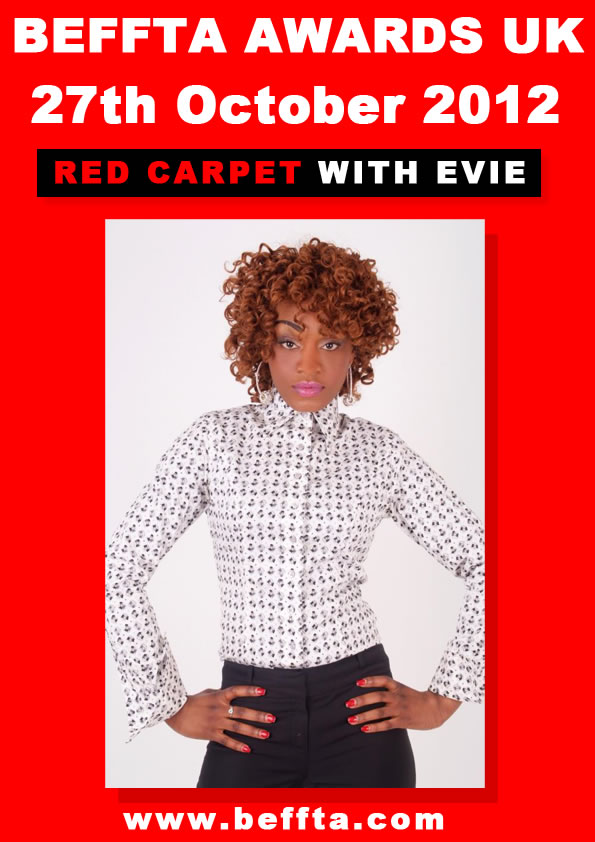 BEFFTA red carpet presenter - Evie Santos