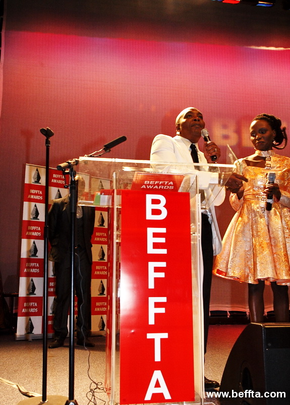 GENERAL SAINT HONOURED WITH A SPECIAL AWARD BEFFTA EXCELLENCE AWARD 