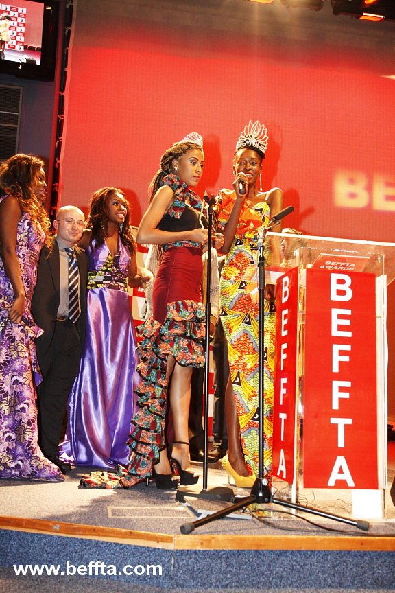 BEFFTA BEST BEAUTY QUEEN WON BY MISS CONGO UK