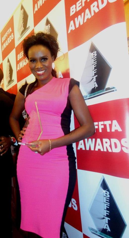 UGANDAN STAR JULIANA KANYOMOZI PICKED UP BEFFTA BEST AFROBEATS ACT