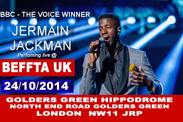 JERMAIN JACKMAN PERFORMING LIVE AT BEFFTA 2014