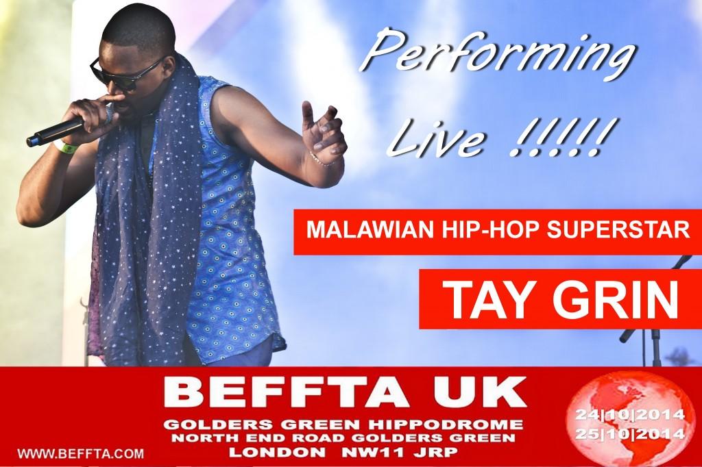 TAY GRIN LIVE AT BEFFTA UK 2014
