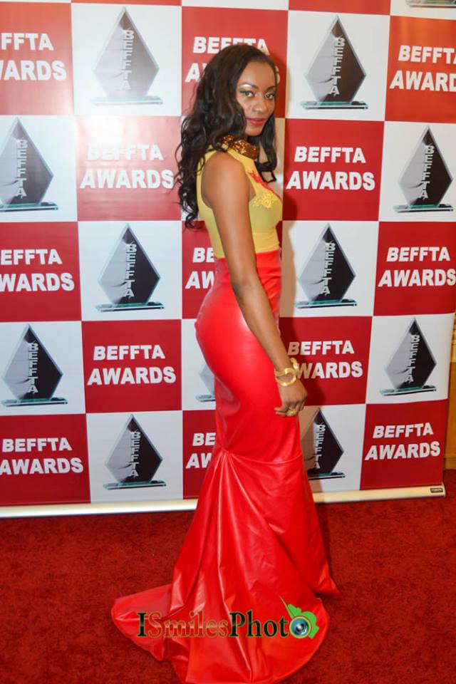 Stylist Chima on BEFFTA red carpet