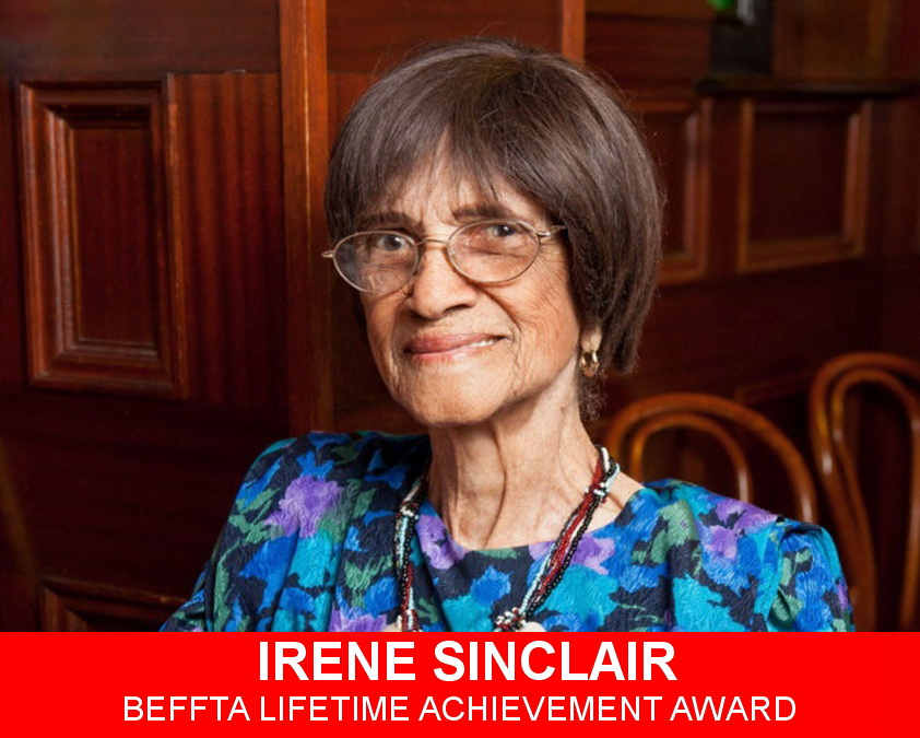 Irene Sinclair - BEFFTA Lifetime Achievement Award