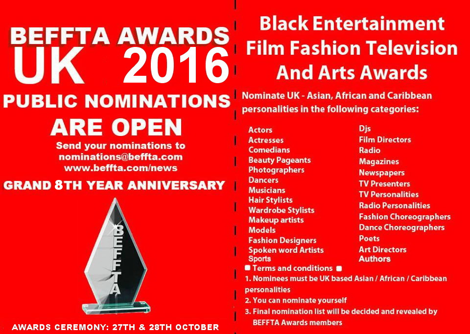 8TH BEFFTA UK NOMINATION 2016