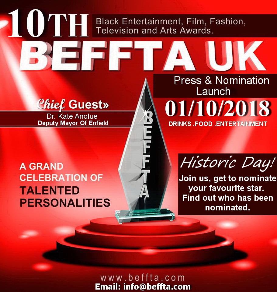 10th BEFFTA 2018 Launch London City